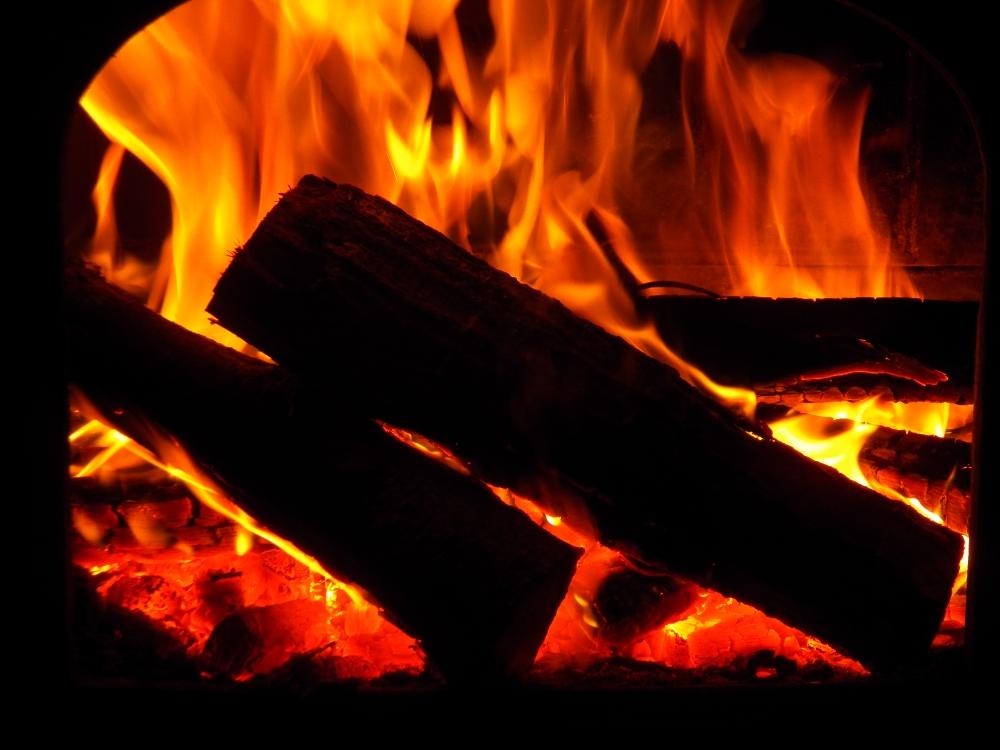 Wood Stove Fire